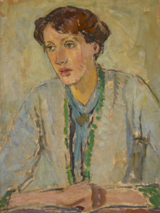 Virginia Woolf by Vanessa Bell (1912)