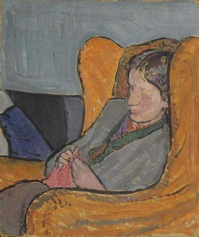 Virginia Woolf by Vanessa Bell (1912)