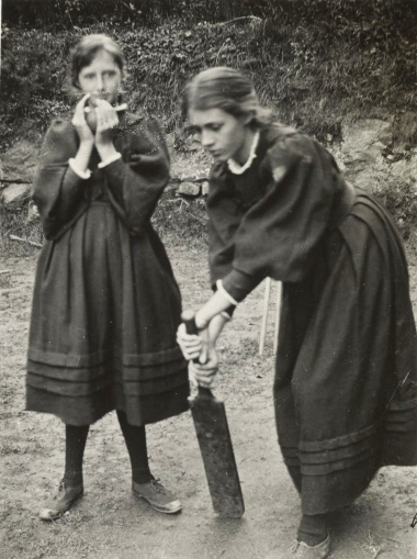 Vanessa and Virginia as children (1894)